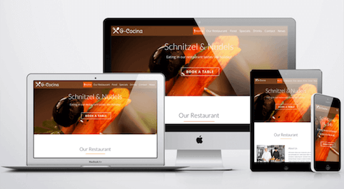 GeckosGastro WordPress Theme