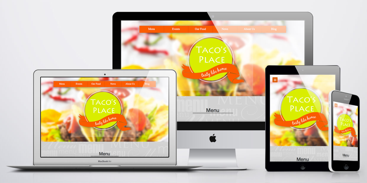 WordPress Theme responsive - Hungry Gecko